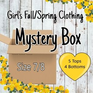 Girl's Fall/Spring Clothing Mystery Box
